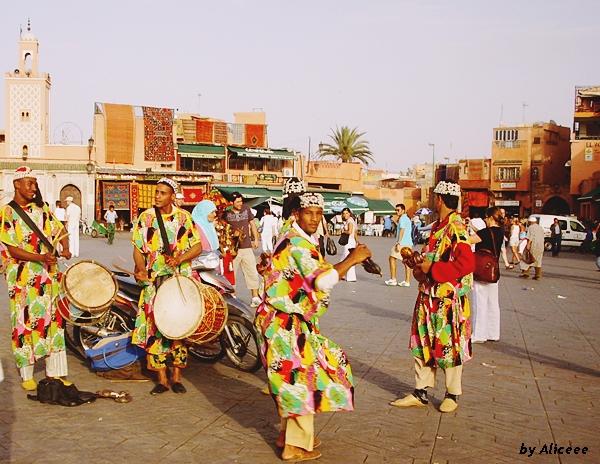 Gnawa-muzica-Djemaa-el Fna