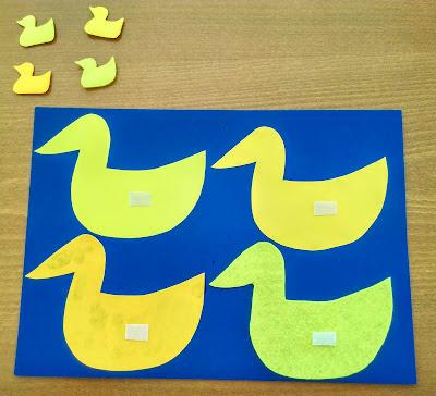 10 Κίτρινα Παπάκια από τον Eric Carle