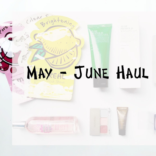 May & June Beauty Haul #14