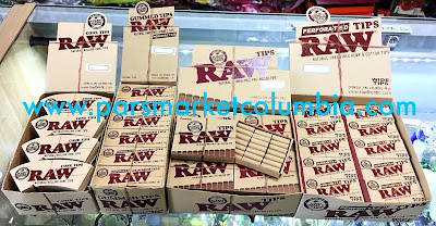 Wide selection of RAW tips, including cone tips and pre-rolled tips at Pars Market Columbia Howard County Maryland 21045