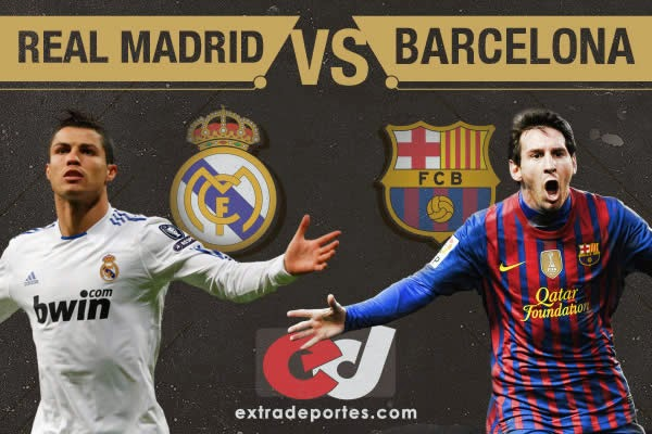 Real Madrid vs Barcelona - Cristiano Ronaldo vs Lionel Messi