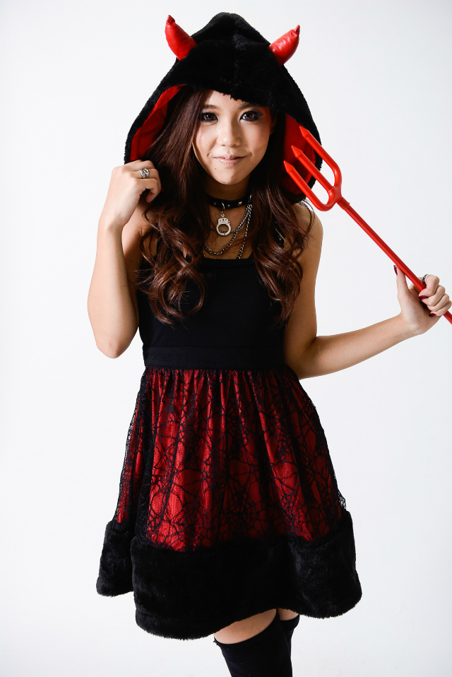devil gyaru halloween costume