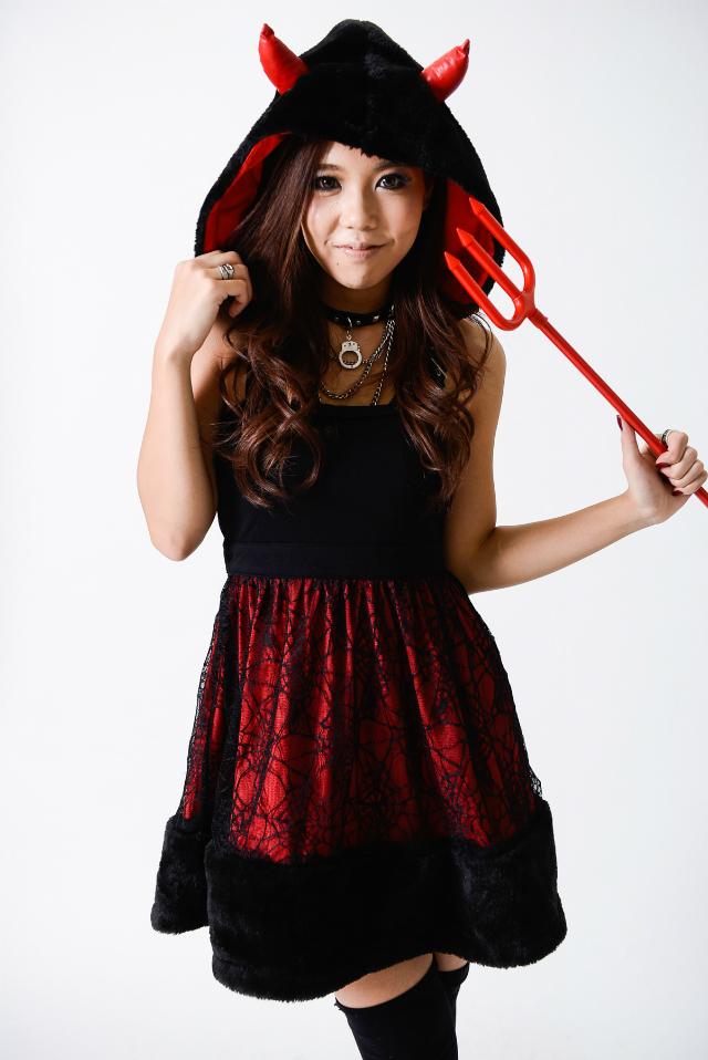 devil gyaru halloween costume