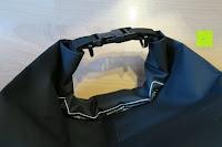 leer Verschluss: Dry Bag »Krake« Wasserdichte Trockentasche / Seesack / Survival Bag / Trockensack / Ideal für Kajak, Kanu, Segeln, Angeln, Schwimmen, Strand, Snowboarden, Skifahren, Bootfahren, Camping / Schützt Deine Wertsachen und Kleidung vor Staub, Nässe, Sand und Schmutz / 5L gelb