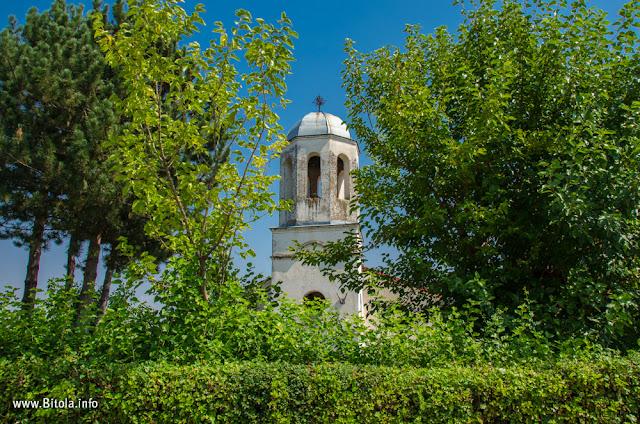 St. Demetrius (Св. Димитриј) church in village of Bareshani, Bitola Municipality, Macedonia
