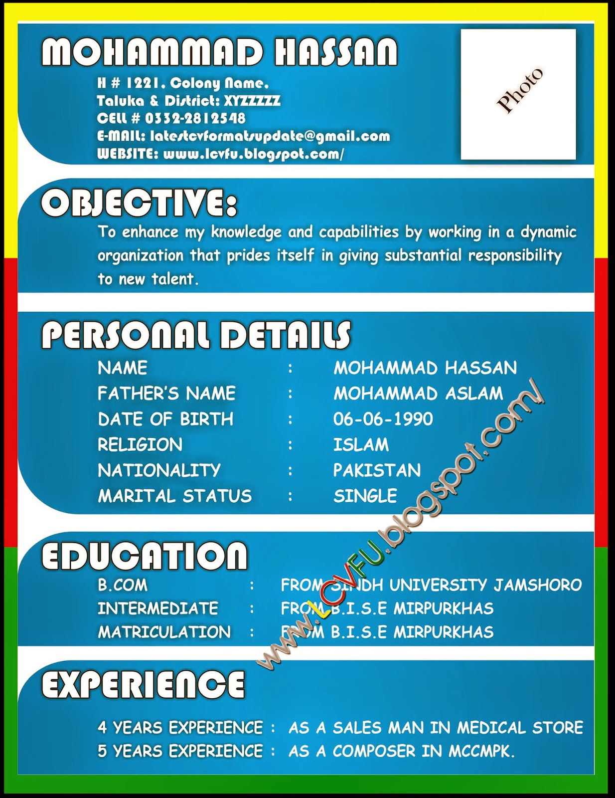 update resume free example resume and cover