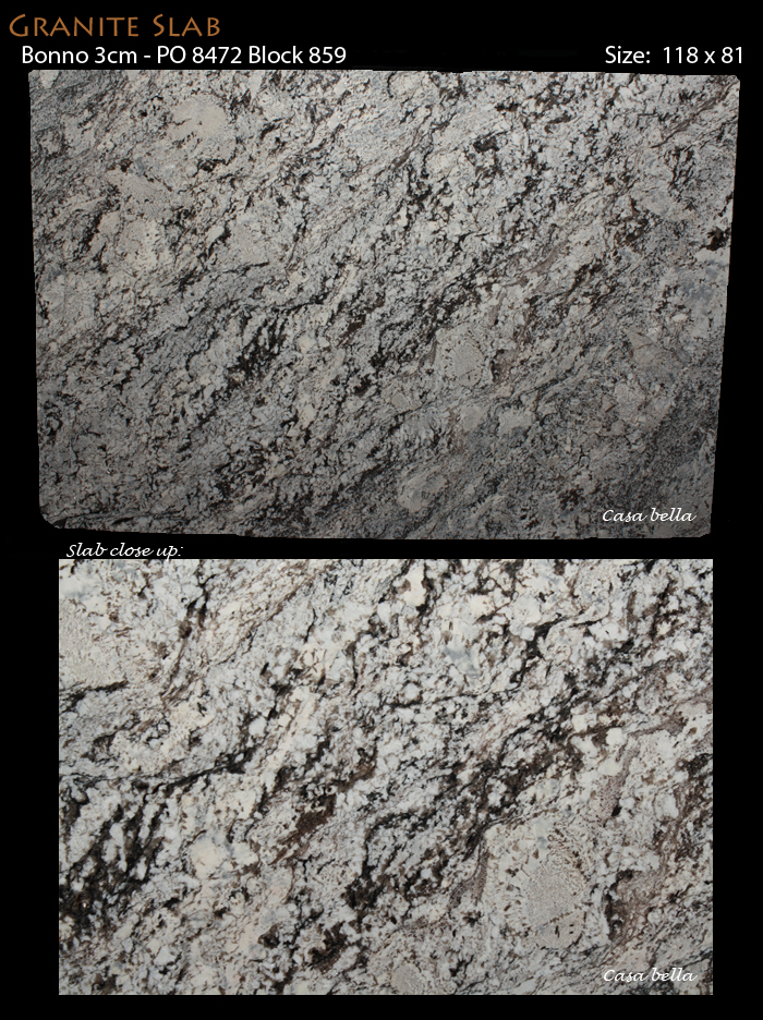 Bonno 3cm Granite Po 8472 Block 859