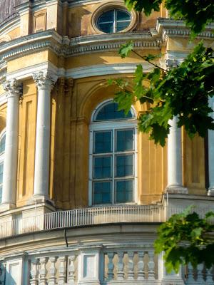 Particolare vetrata Basilica di Superga