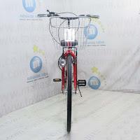 City Bike Evergreen Fuji 7 Speed 26 Inci-Red