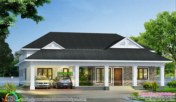 Modern bungalow architecture