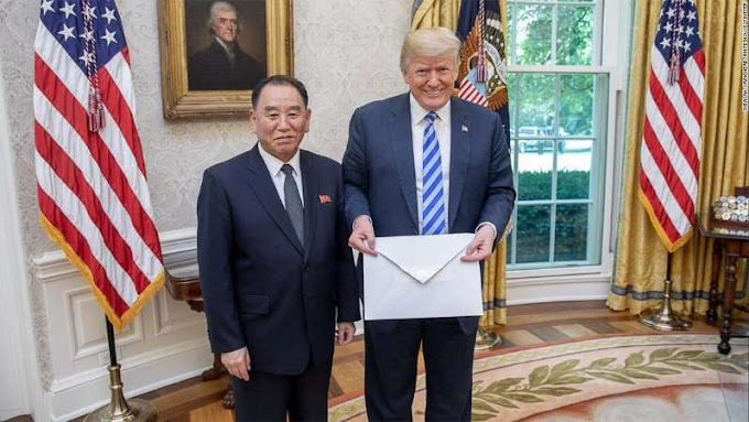 Kim Jong Un sent a letter to Trump. It's huge