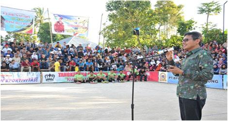 Open Turnamen Voli Putra Kecamatan Ampek Angkek Agam Mencari Bibit Atlit Olahraga Volly Ball