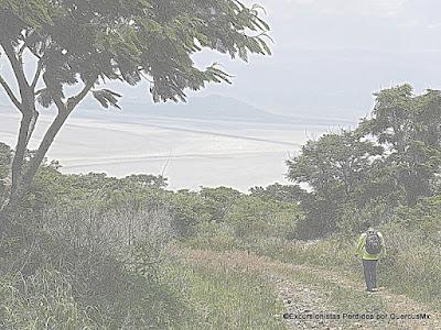 Rumbo a San Marcos Evangelista desde el Cerro La Lima