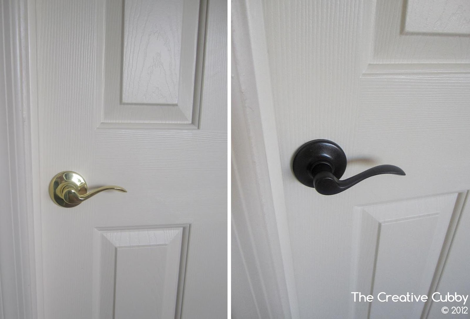 The Creative Cubby: DIY Door Handle Upgrade