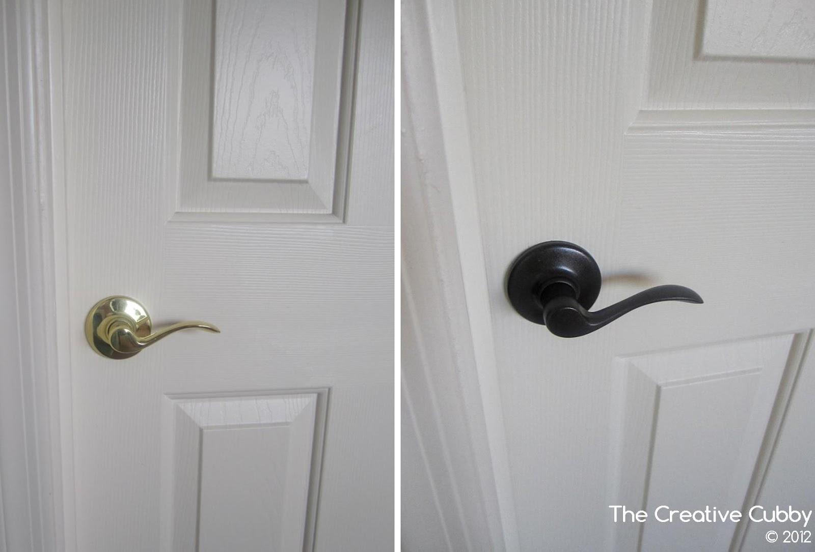 The Creative Cubby: DIY Door Handle Upgrade