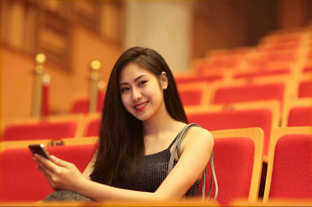 Nhan sắc đời thường của hoa khôi Học viện Âm nhạc Quốc gia Việt Nam -1