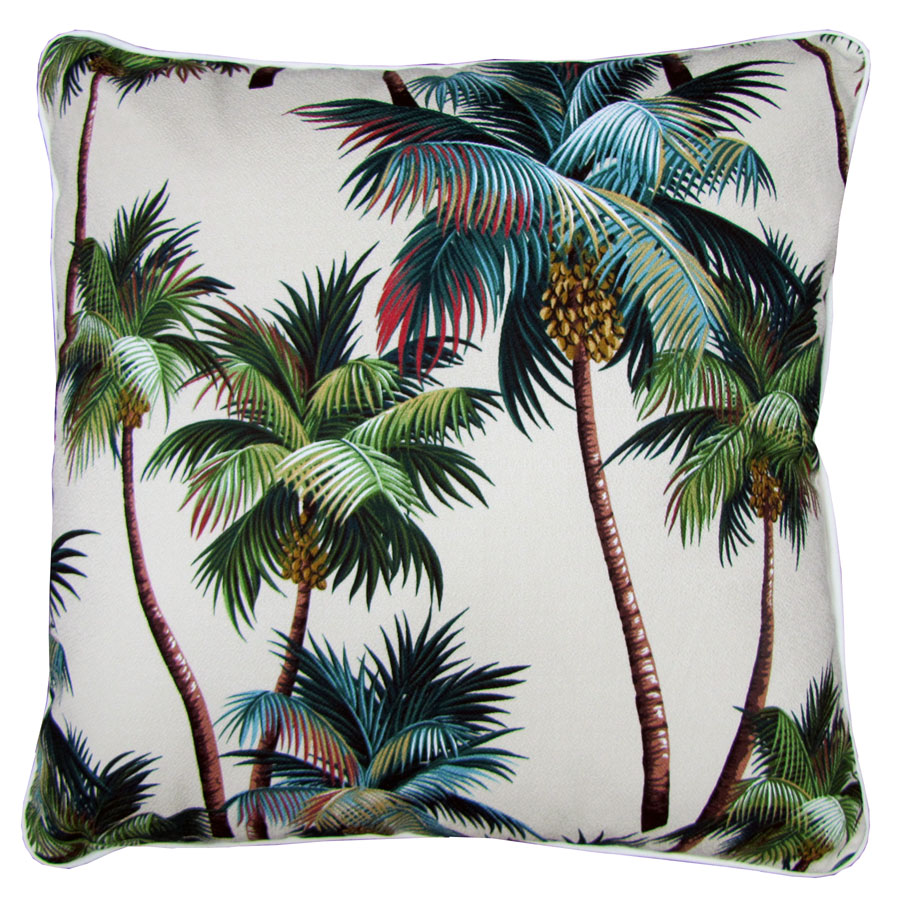 Oversized Patio Chair Cushions Black Massage Palm Tree – Pads &