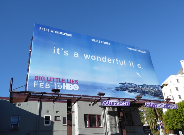 Big Little Lies limited series billboard