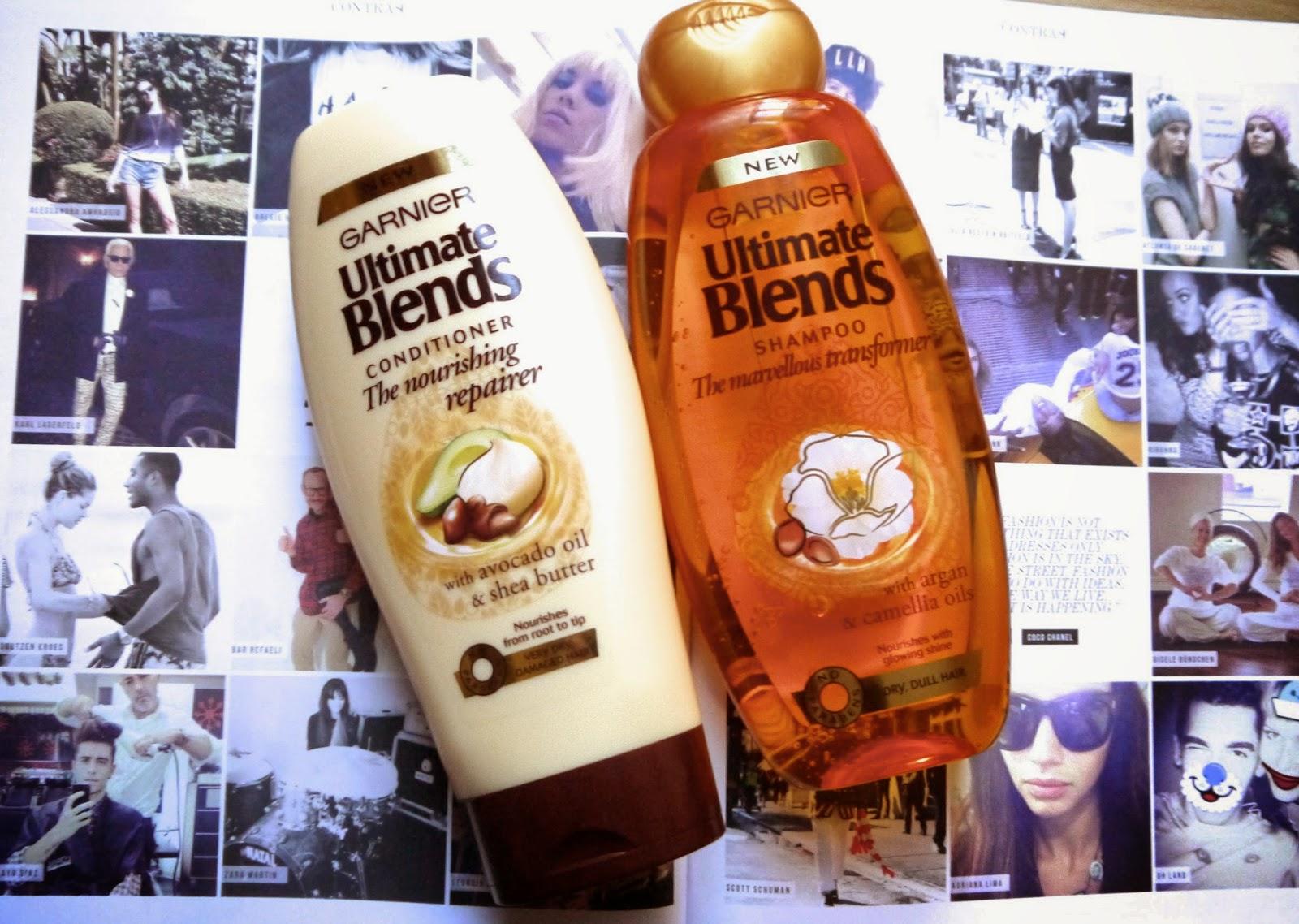 Garnier Ultimate Blends Hair Care // The Nourishing Repairer + Marvellous Transformer