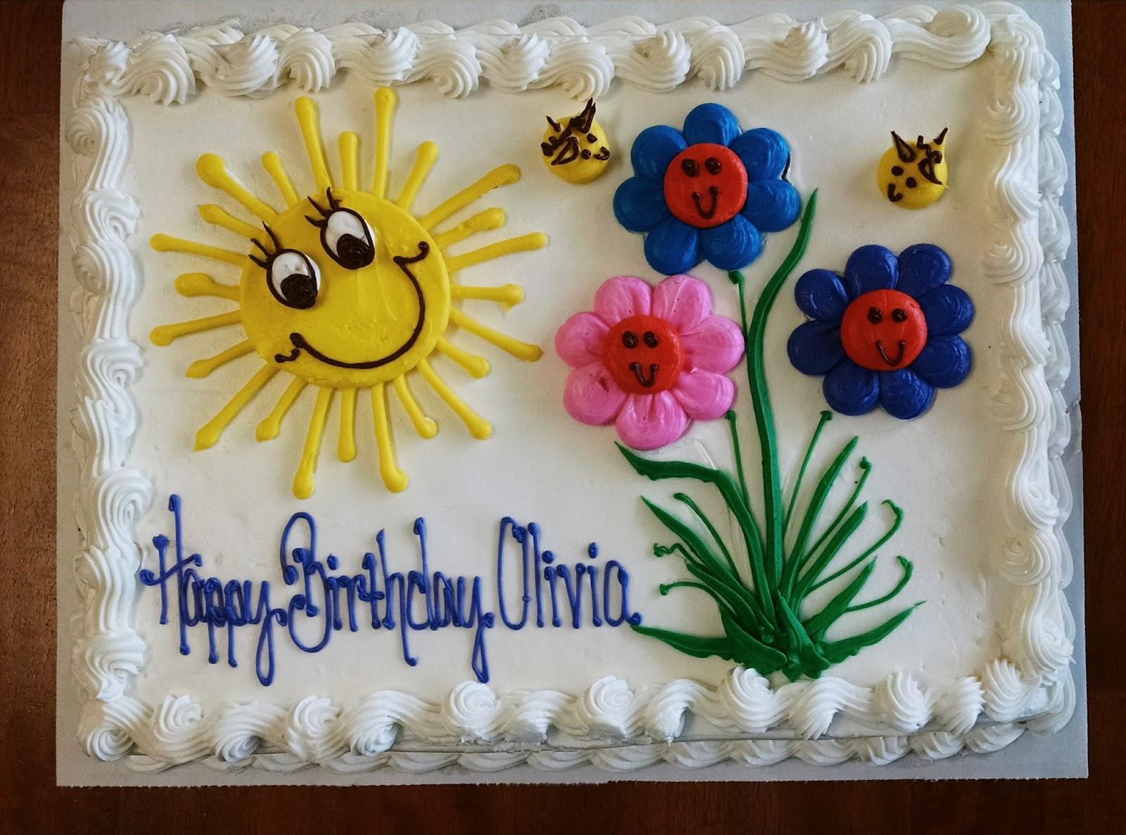 Happy Birthday Baby Girl Cake Images