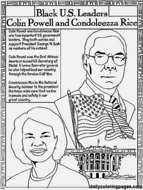 coloring pages of african american inventors - black history color sheets free coloring sheet