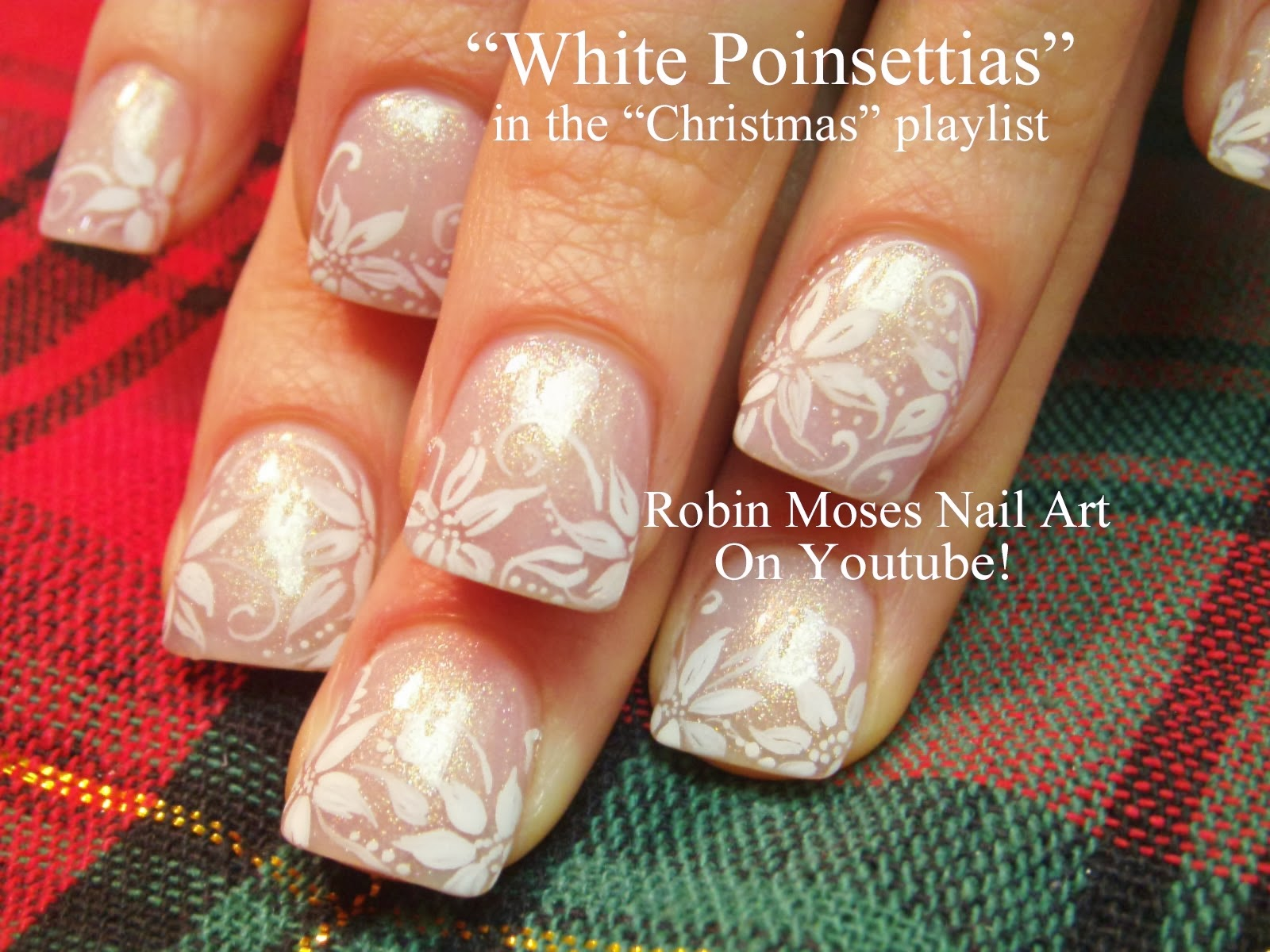 Nail Art By Robin Moses Nail Art For Christmas Ultimate
