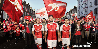 Arsenal Home Jersey 2016/17