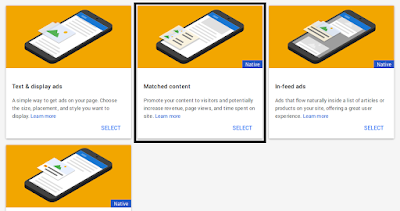 Cara Mendapatkan Matched Content Google Adsense