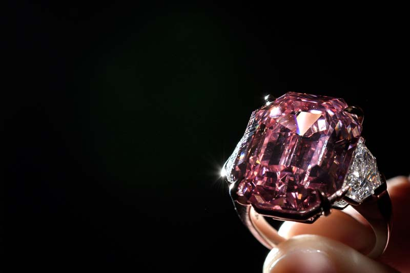 Pink Legacy Diamond Sold for World Record Price $50m
