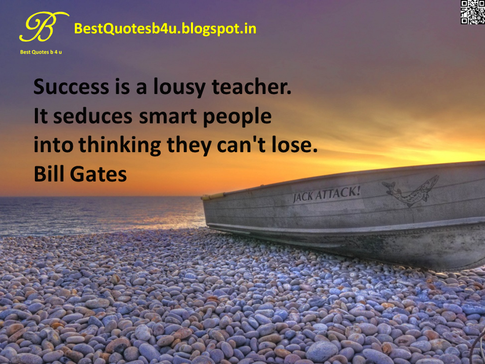 Best English Inspirational Life Quotes about Success with images and wallpapers by Bill Gates