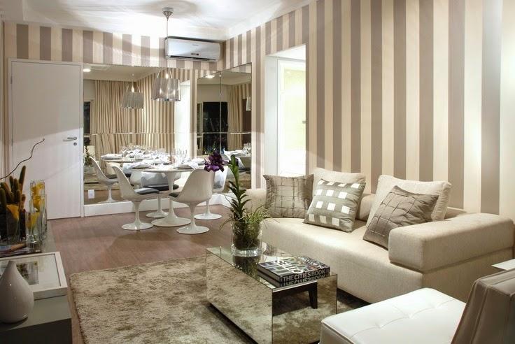 Sala De Estar Pequena Como Decorar ~ Consultoria de decoração Salas Integradas Estreitas e Pequenas com