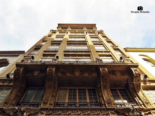 Perspectiva inferior da fachada do Edifício Guinle - Centro - São Paulo