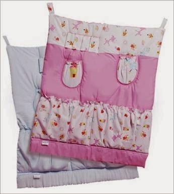 Кармашки на детской кроватке
