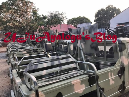 Checkout the Military Vehicles Innoson Motors Just Delivered to the Nigerian Army (Photos)