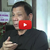 President Duterte warns corrupt Makati cop: Stop or I will stop you