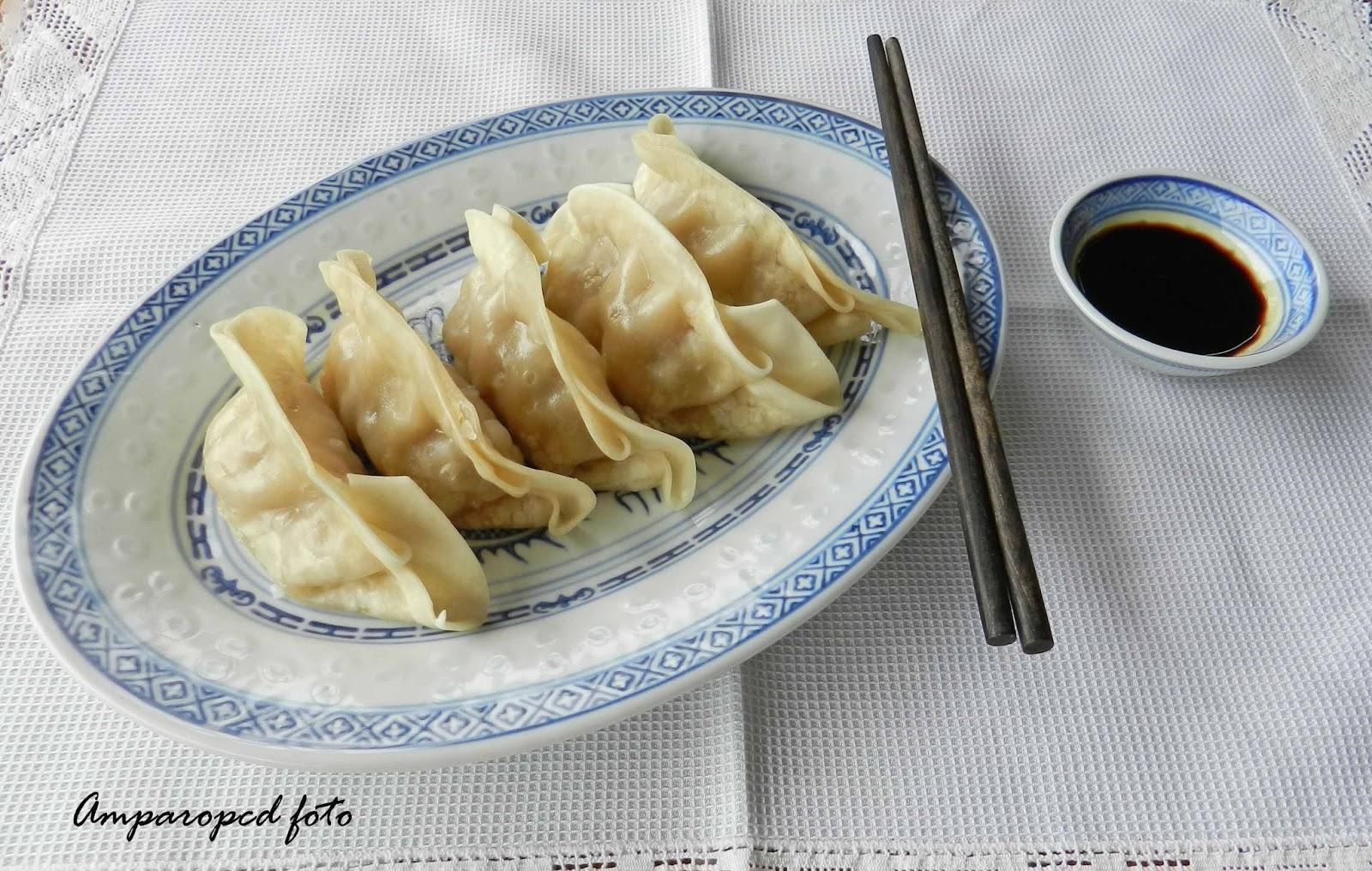 Cocinando en casa: Dim Sum (Empanadillas chinas)