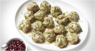 Meat Balls with White Sauce (Beyaz Soslu Kofte)