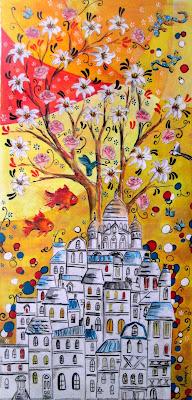 mezzaro montmartre Annapia Sogliani l'albero della vita l'arbre de la vie