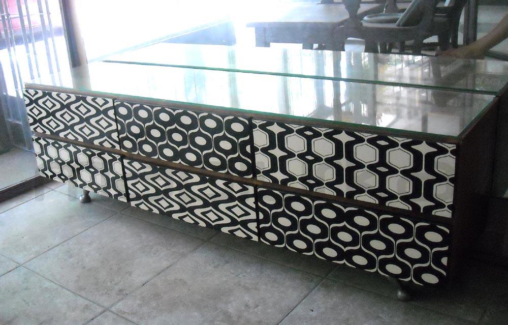 Mapiurka adhesivos decorativos ba mueble retro for Adhesivos decorativos para muebles