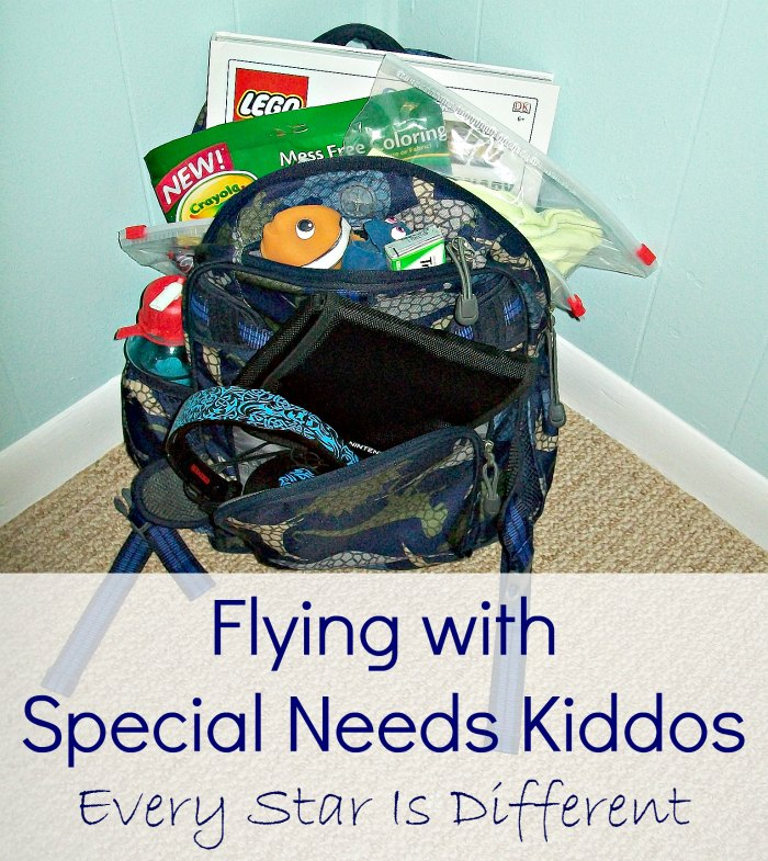 Flying with special needs kids