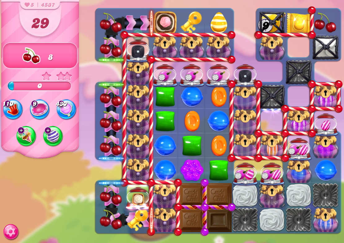 Candy Crush Saga level 4537
