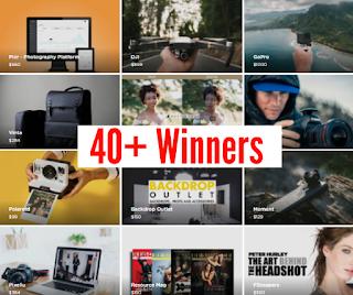 camera prizes