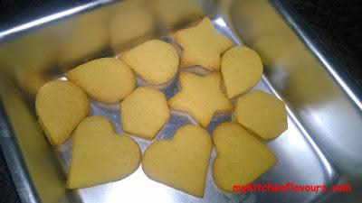 Leftover Fresh cream cookies