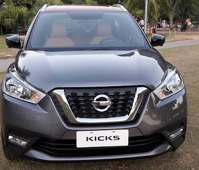 nisaan kicks suv 2016 front look