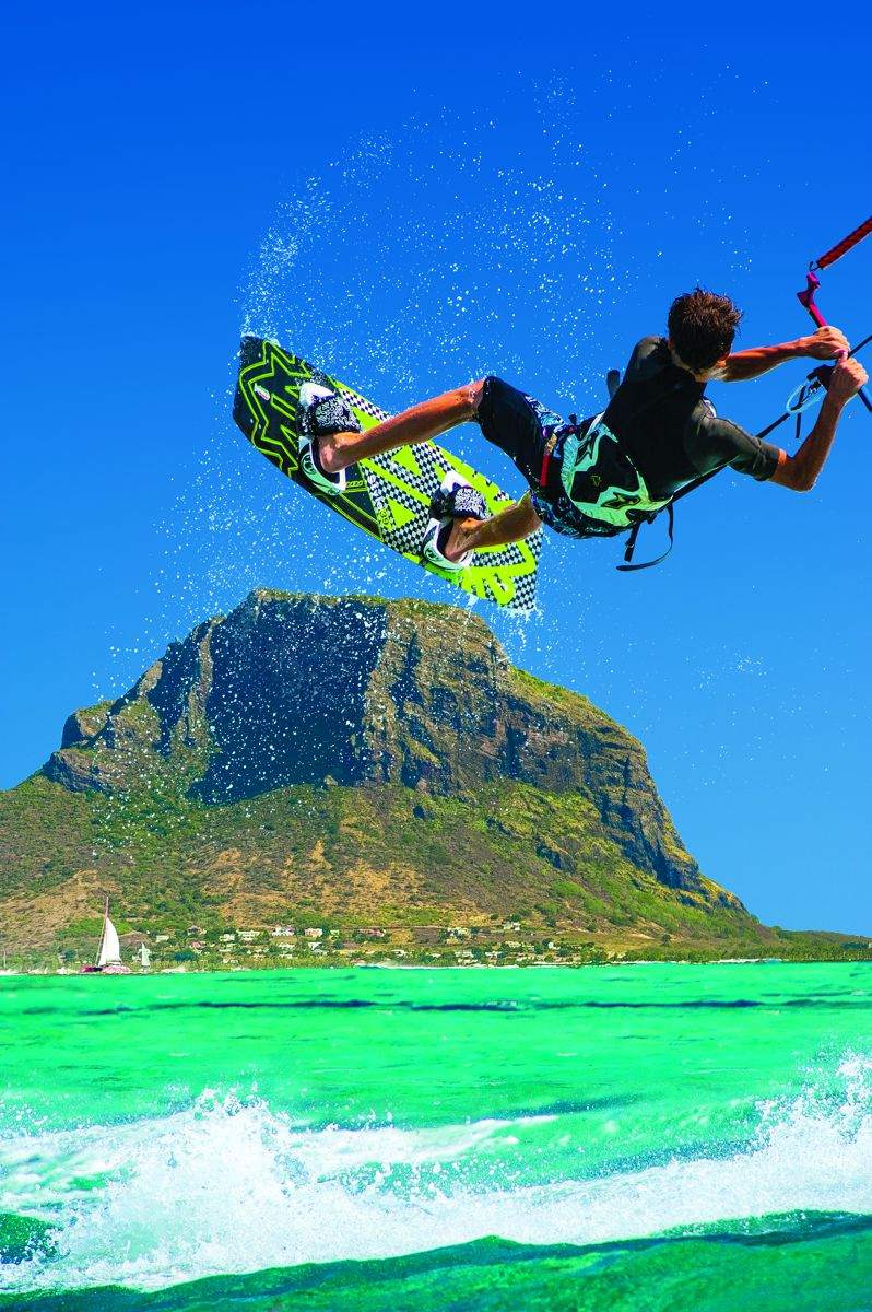 KITESURF alle MAURITIUS: I migliori kitesurfer sfideranno il One Eye