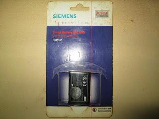baterai Siemens S40, S42 original