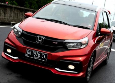 Mobilio, Mobil Honda Paling Laris di Semester I 2017