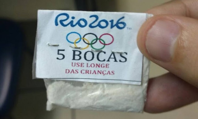 Traficantes do Rio  homenageiam Olimpíada e aderem ao politicamente correto