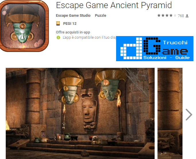 Soluzioni Escape Game Ancient Pyramid livello 1-2-3-4-5 | Trucchi e Walkthrough level