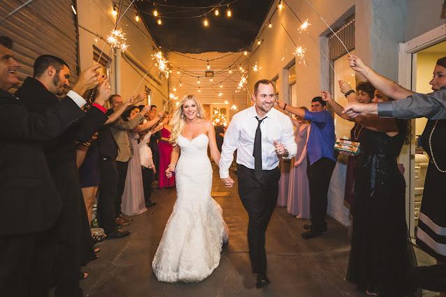 bride and groom happy sparkler send off-1010 west